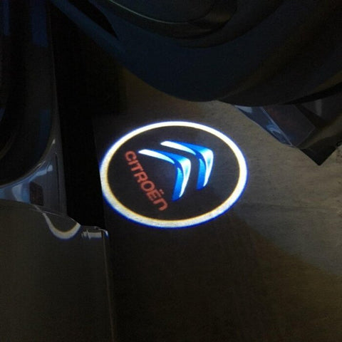 Image of Led Car Logo Projector: Wireless Laser Door Projector to Welcome Your Passengers - For Citroen - Beeline-Xpress