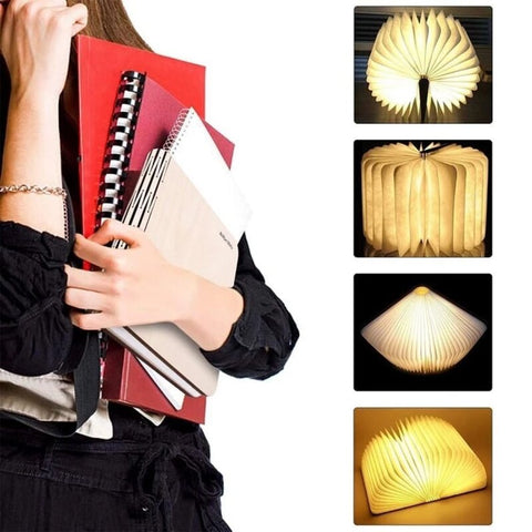 Foldable Led Magic Book Lamp: Perfect gift that you can offer to everyone
