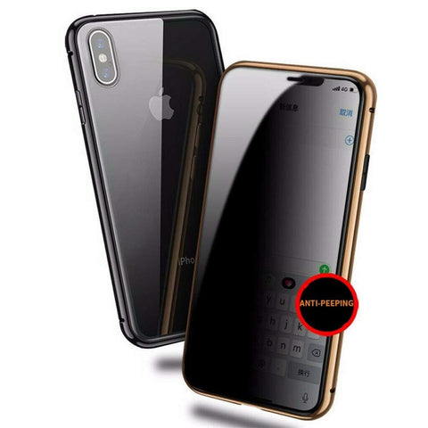 Apple IPhone Case : Magnetic Protection and stainless