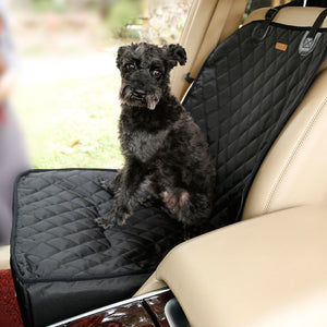 3 in 1 Luxury Pet Single Seat Cover for Car: Waterproof & Nonslip Backing