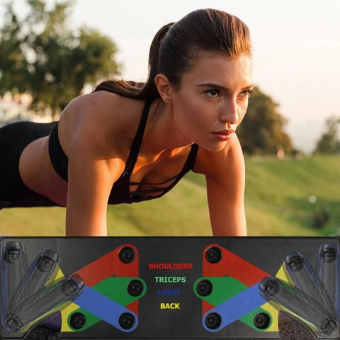 Image of 9 in 1 Push Up Support Training Board - Beeline-Xpress