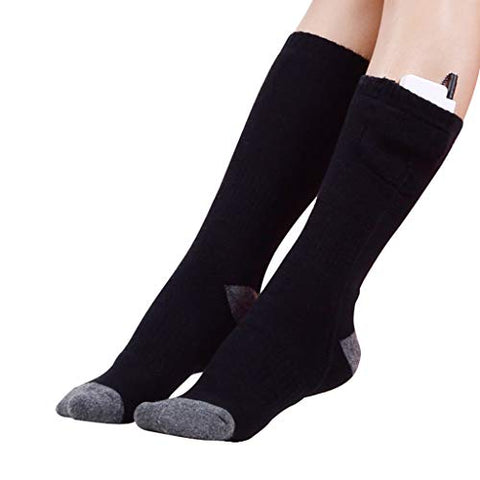 Image of Hot Feet : Rechargeable electric heated socks