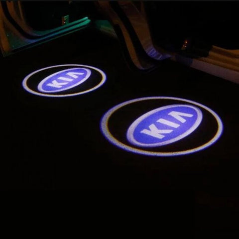 Led Car Logo Projector: Wireless Laser Door Projector to Welcome Your Passengers - For Kia - Beeline-Xpress