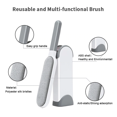 Image of Magic Stick Brush : Pet Hair Removal Brush for Furniture & Dresses