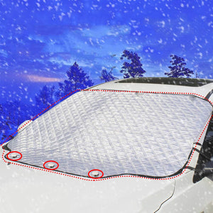 Magnetic Car Windscreen Cover - All Seasons Protector - Beeline-Xpress
