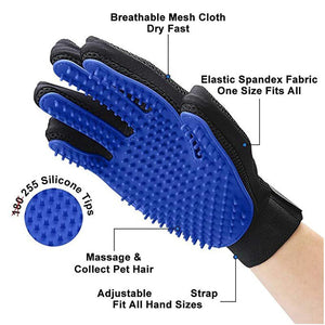 Bathing & Grooming Pet Gloves