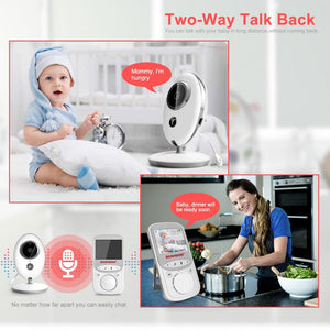 Wireless Baby Monitor with LCD Display