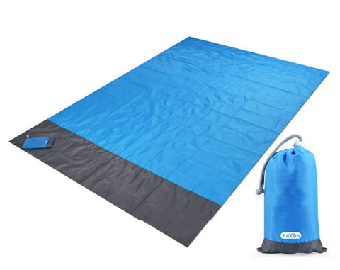 Image of Magic Sand Free Beach Mat: It's Engineered to Allow Sand to Fall Through the Mat