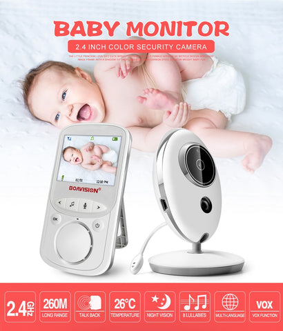 Image of Wireless Baby Monitor with LCD Display