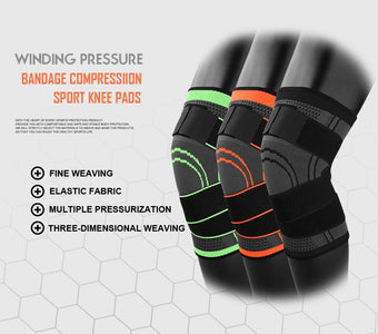 3D Knee Support: Provides Stability During Sports - Beeline-Xpress