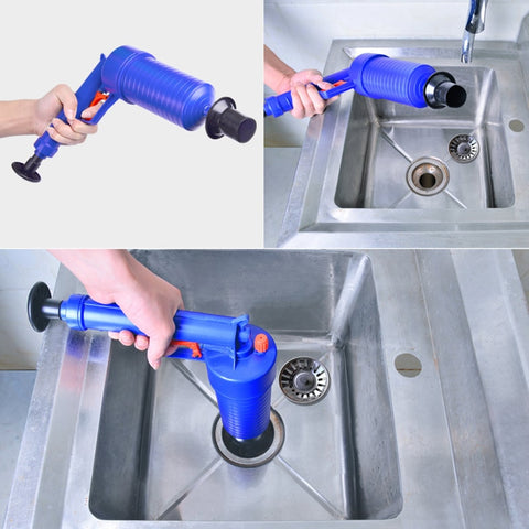 High pressure drain pump: cleans drains & fights the hardest blockages quick & easy - - Beeline-Xpress