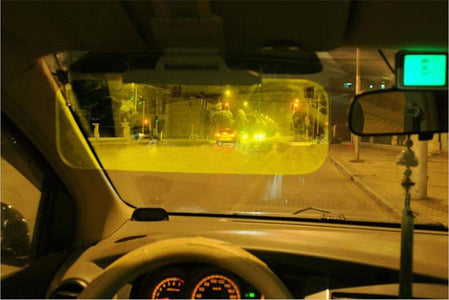 HD Anti-Glare Car Windshield Visor: Comfortable for driving day and night - Beeline-Xpress