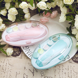 Baby Nail Trimmer: Electric nail sander for baby with LED front light