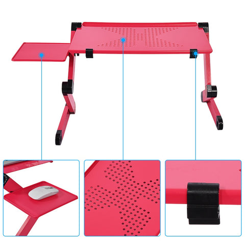 Image of Adjustable Laptop Desk: Stand-Up and Stability Equipment - Beeline-Xpress