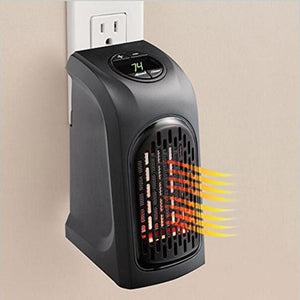 Mini Portable Thermo Plus Heater:  Mobile Ceramic Radiator That Heats Up Room