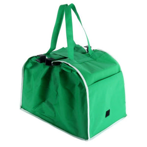 Spacious and convenient shopping bag: Ideal for large and small purchases