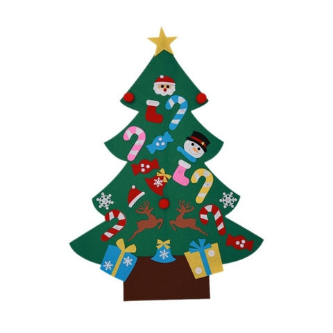 DIY Felt Christmas Tree: Best Gift for Kids at Christmas