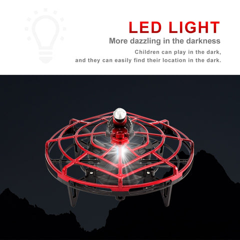Image of Magic Drone: Infrared Mini Drone Hand Flying UFO - Beeline-Xpress