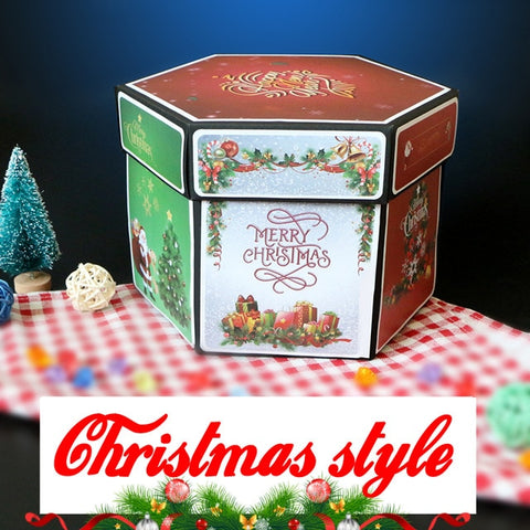 Image of Photo Album Box: Keep all your memories together - CHRISTMAS - Beeline-Xpress