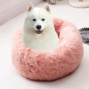 Pet cushion: Comfortable and Warm Velvet Dog, Cat Cushion - Beeline-Xpress