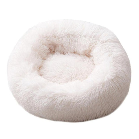 Image of Pet cushion: Comfortable and Warm Velvet Dog, Cat Cushion - Beige / 50cm - Beeline-Xpress