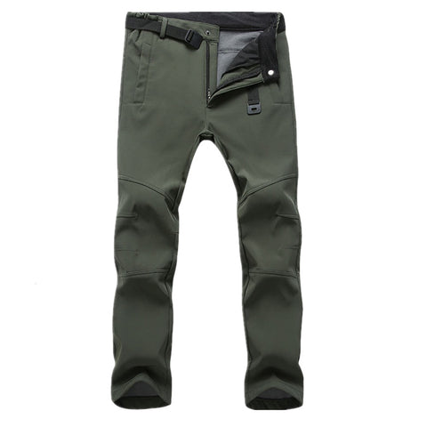Image of Durable Outdoor Sports Anti-Cold Winter Pants: Flexible, Comfortable & Trendy Pants