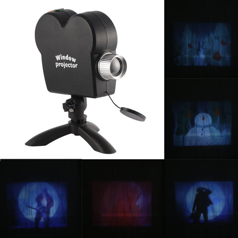 Magic Window: A Projector That Turns Every Window Into A Festive Figure! - Beeline-Xpress