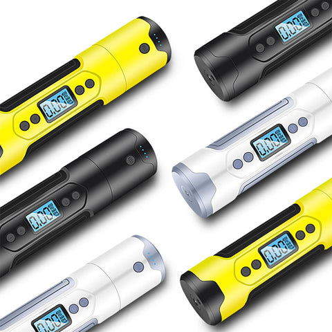 Image of Mini Portable Electric Air Pump: The Smallest And Most Ergonomic