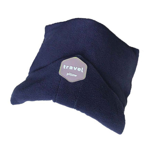 Image of Dream Scarf Travel Pillow: Scientifically Proven Neck Support Pillow - Blue - Beeline-Xpress