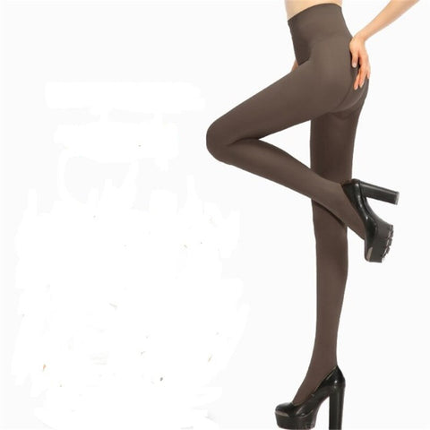 Image of Women's Strong Hard-Wearing Pantyhose: Prevents Sagging Hip - Grey - Beeline-Xpress