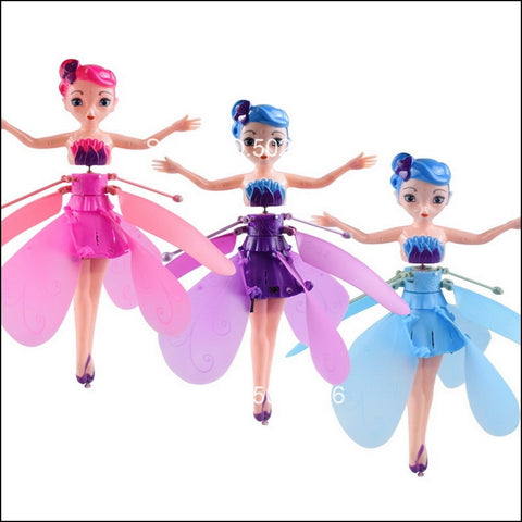 Flying Fairy Doll: Fairy that can fly with rainbow colors - Beeline-Xpress