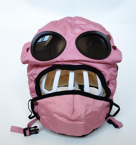 Image of Unisex Winter Hat: Windproof, Warm, Waterproof and Ski Cap - pink / S(kids) - Beeline-Xpress