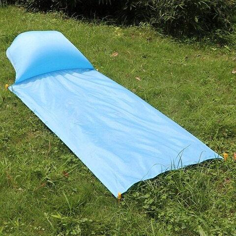 Image of Picnic Mat: Inflatable and Waterproof Air Cushions - Beeline-Xpress