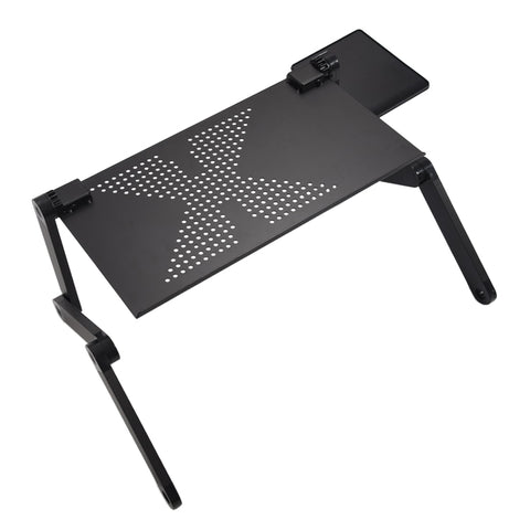 Image of Adjustable laptop desk: Use it as a standing desk, or to work or watch your favorite movie on the bed. - Beeline-Xpress