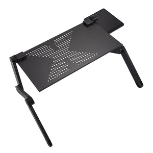 Adjustable laptop desk: Use it as a standing desk, or to work or watch your favorite movie on the bed. - Beeline-Xpress