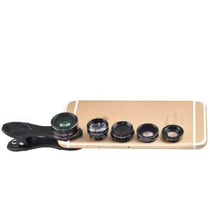 5-in-1 Camera Lens Kit : Capture the Moments with 5 Different Lens