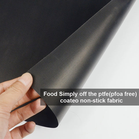 Silicone Grill Mats With Teflon non-stick coating