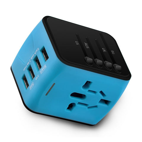 Universal Travel Adapter: Plug Worldwide