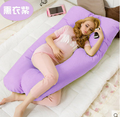 Image of Nursing and pregnancy pillow: Perfect for reading, breastfeeding or watching TV