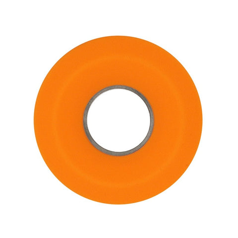 Image of Donut Silicone Headphones Storage Box: Cable Winder Cord Organizer - Orange - Beeline-Xpress