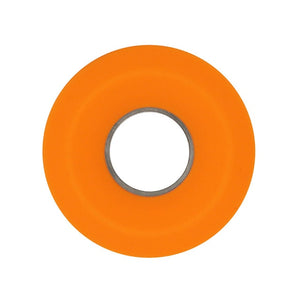 Donut Silicone Headphones Storage Box: Cable Winder Cord Organizer - Orange - Beeline-Xpress