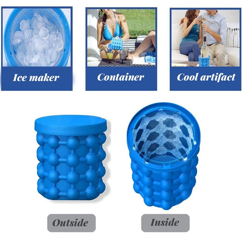 Ice Genie: Save a lot of space in your freezer thanks to this ergonomic design!