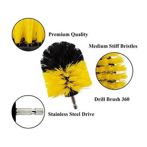 Drill Powered Cleaning Motor Brush: The new way to clean
