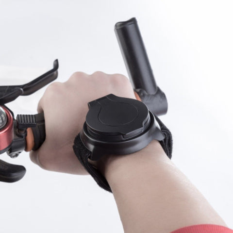 Bicycle Wrist Safety : Comfortable Wide-Angle Rear-View Mirror - Beeline-Xpress