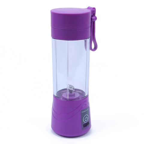 Portable Rechargeable Juicer: Enjoy Fresh Juice Anytime & Anywhere - PURPLE - Beeline-Xpress