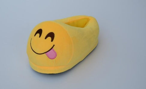 Emoji Slippers : Warm Soft and Non-Slip Indoor Shoes