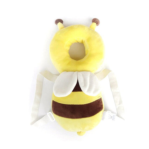 Baby Head Protector & Fluffy pillow: Head and back protector for baby - Yellow Hollow Bee - Beeline-Xpress