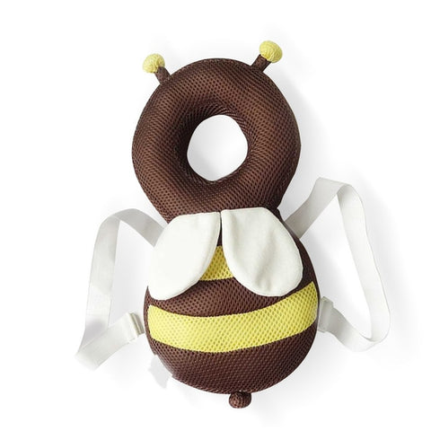Baby Head Protector & Fluffy pillow: Head and back protector for baby - Hollow Net Bee - Beeline-Xpress
