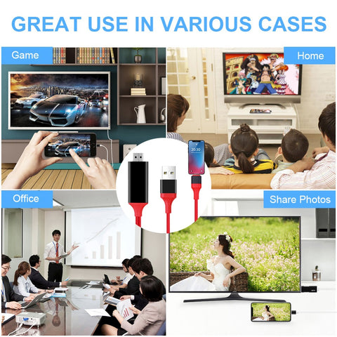 Image of Cable Tv Hdmi Converter For iPhone and iPad - Beeline-Xpress