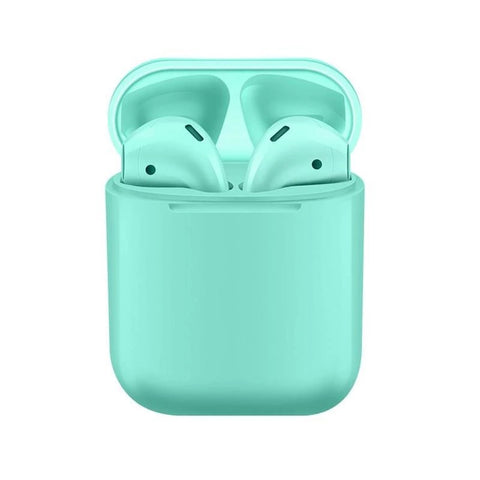 Image of SmartPods X : Bluetooth Wireless Headphones - GREEN EARPHONES - Beeline-Xpress